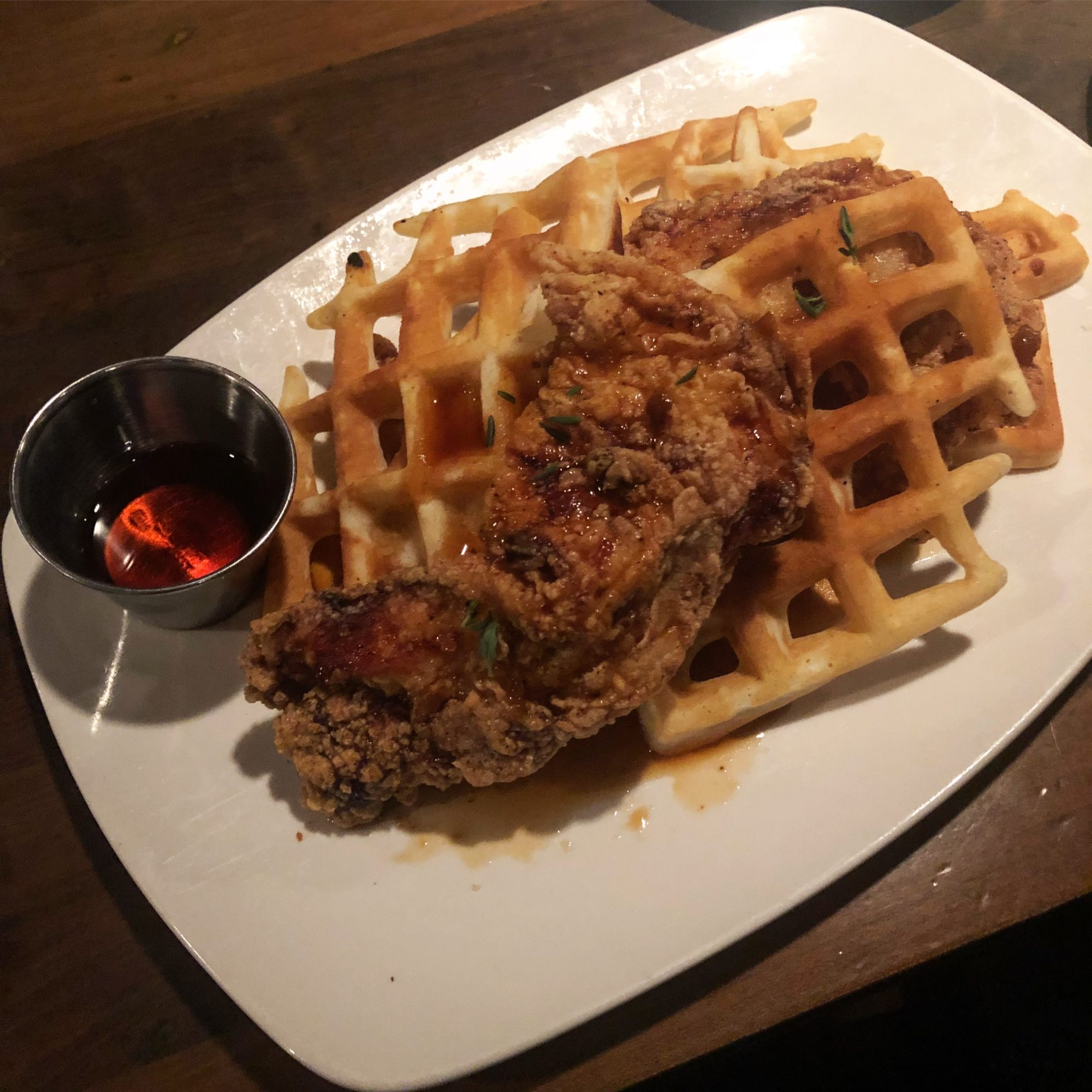 New Chicken & Waffles / Tuc Craft Kitchen
